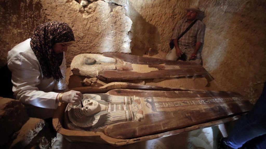 Hallan 110 tumbas de la época predinástica egipcia en el delta del Nilo