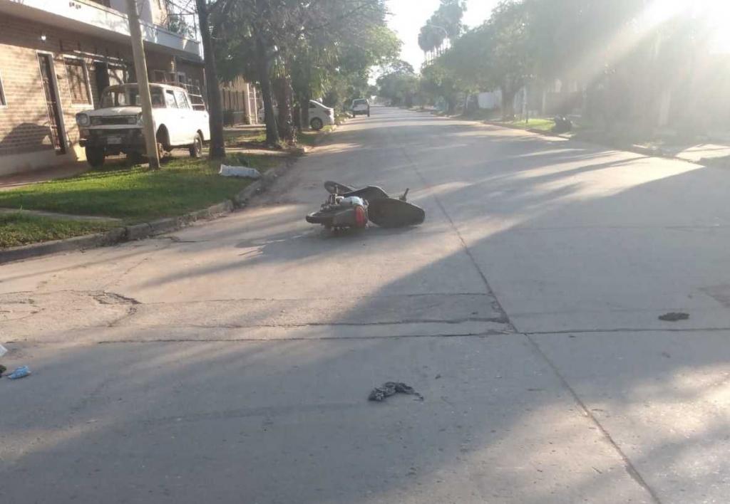 Choque en Sáenz Peña se cobró la vida de un hombre de 39 años