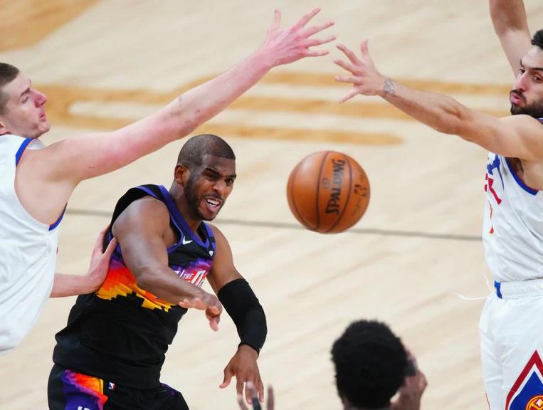 Los Denver Nuggets fueron arrollados por los Phoenix Suns