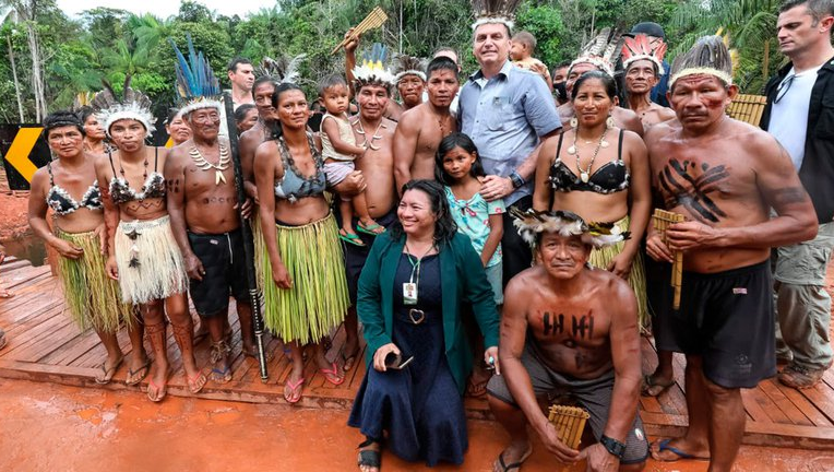 Jair Bolsonaro respondió a los polémicos dichos de Alberto Fernández con una ironía