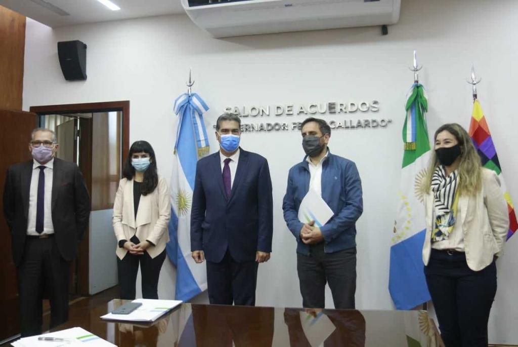 Capitanich recibió a Cabandié: agenda de desarrollo para la región