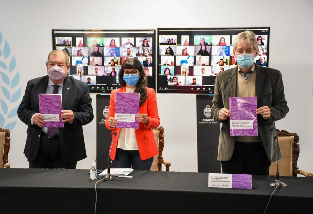 Presentaron Plan Provincial para prevenir y erradicar las violencias por motivos de géneros