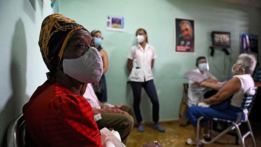 Cuba, con récord de contagios diarios de coronavirus