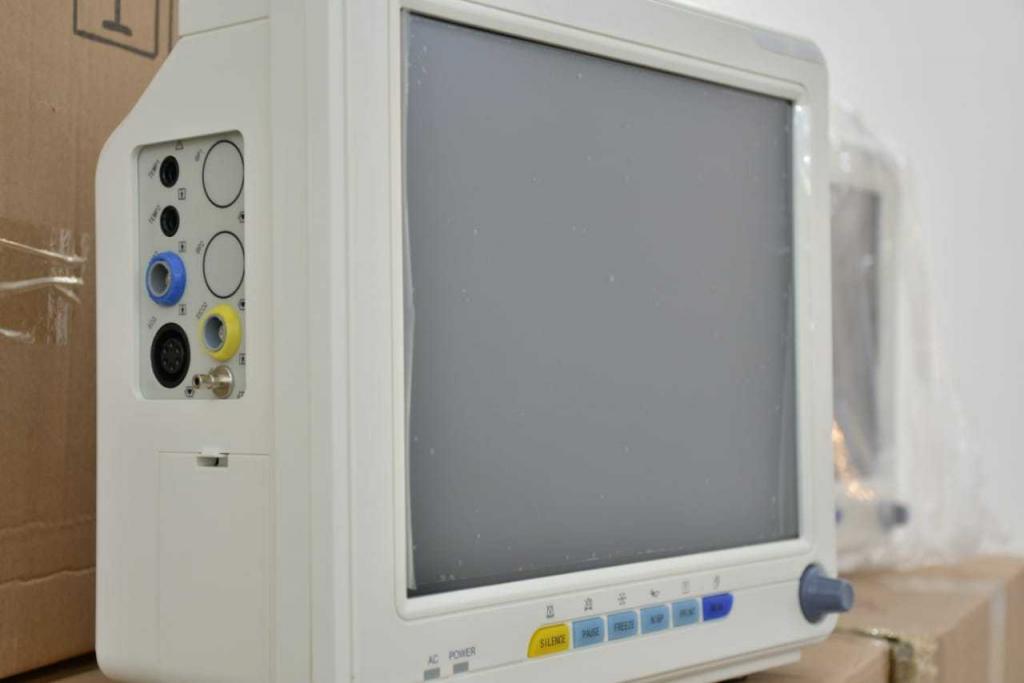 Nuevos monitores multiparamétricos para los hospitales Perrando y 4 de Junio