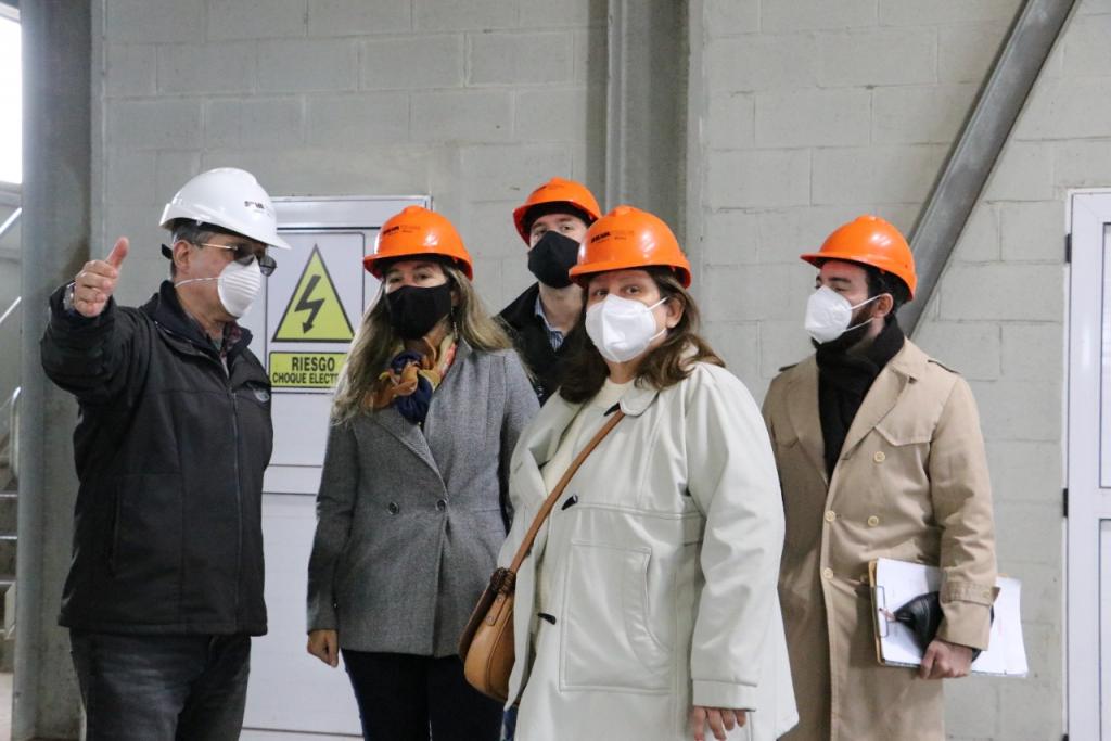 El Gobierno Provincial inspeccionó la planta de tanino Inudor