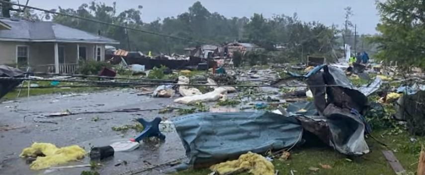 Tormenta tropical deja al menos 13 muertos en Alabama