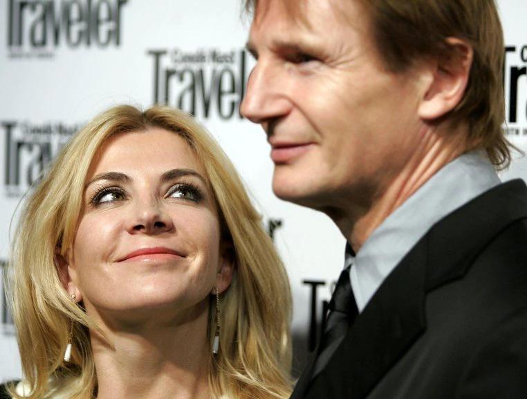 El amor más allá de la muerte: Liam Neeson llora y recuerda a su mujer cada día desde hace 13 años