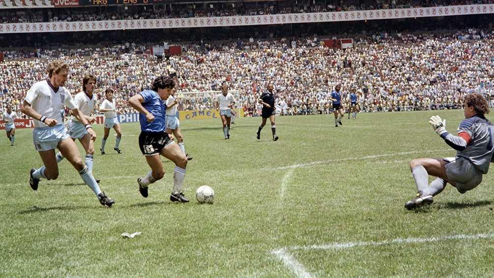 El Gol del Siglo, la obra maestra de Maradona que nadie dimensionó en el Azteca
