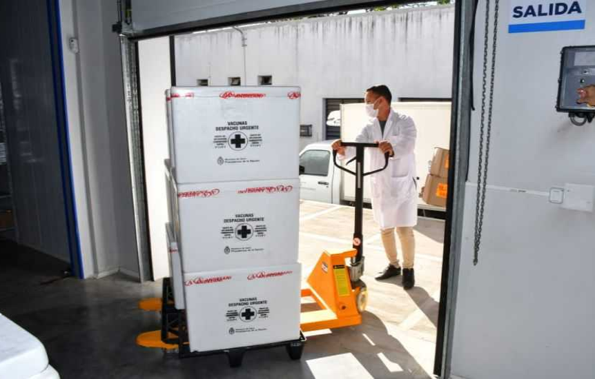 Chaco recibirá más de 20 mil dosis de la vacuna Sinopharm