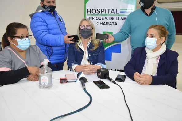 Charata vacuna desde este jueves 24 a mayores de 18 años