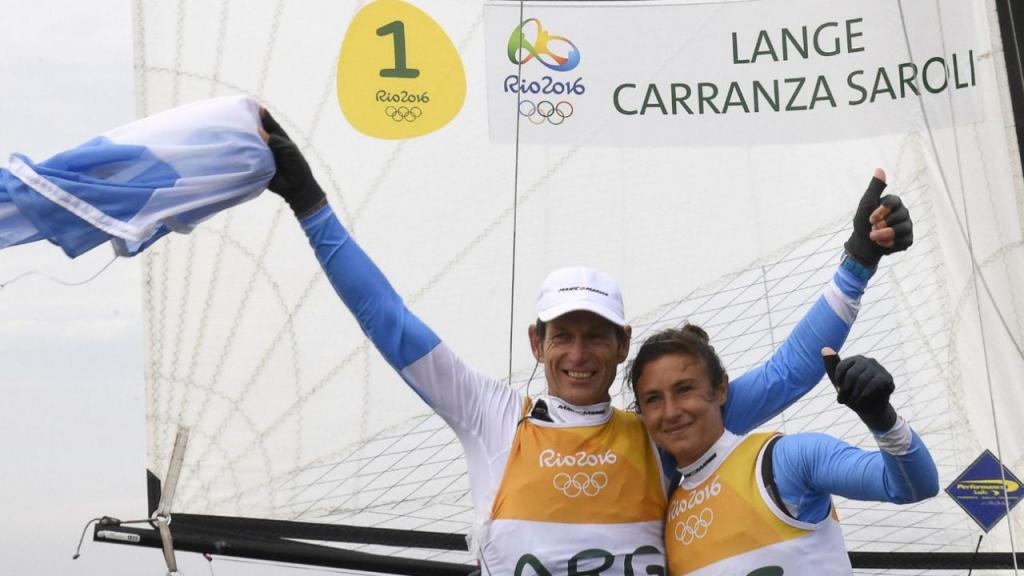 Santiago Lange y Cecilia Carranza serán los abanderados de Argentina en los Juegos Olímpicos