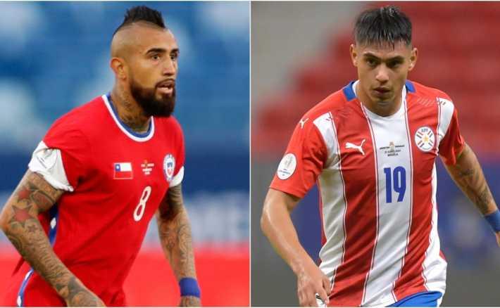 Paraguay vs Chile y Uruguay vs Bolivia, los partidos por Copa América este jueves