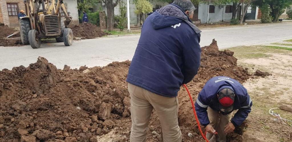 Sameep coordina trabajos y financiamiento de obras para el mejorar el servicio de agua y cloacas