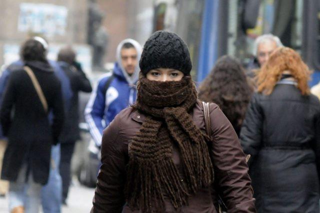 Frío polar desde hoy
