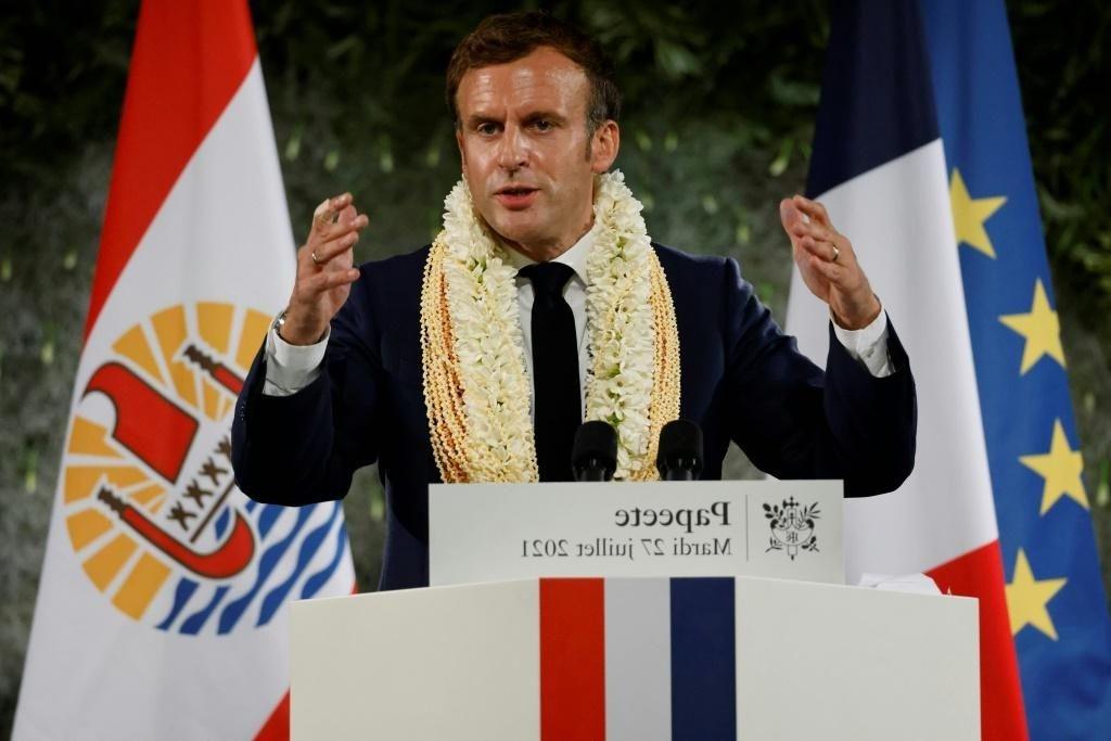 Macron admite una