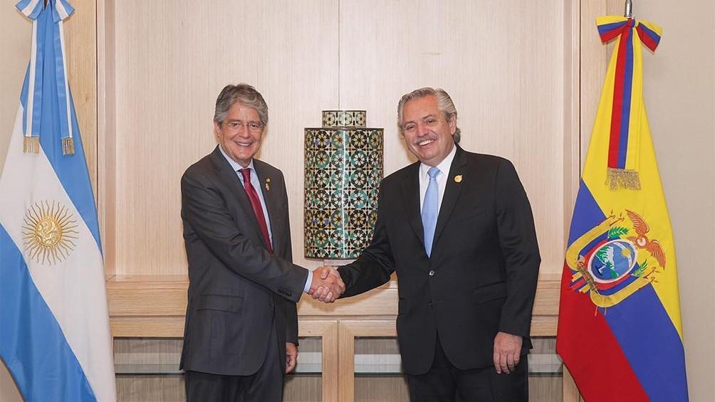 Fernández y Lasso coincidieron en Lima en el anhelo de una América Latina unida
