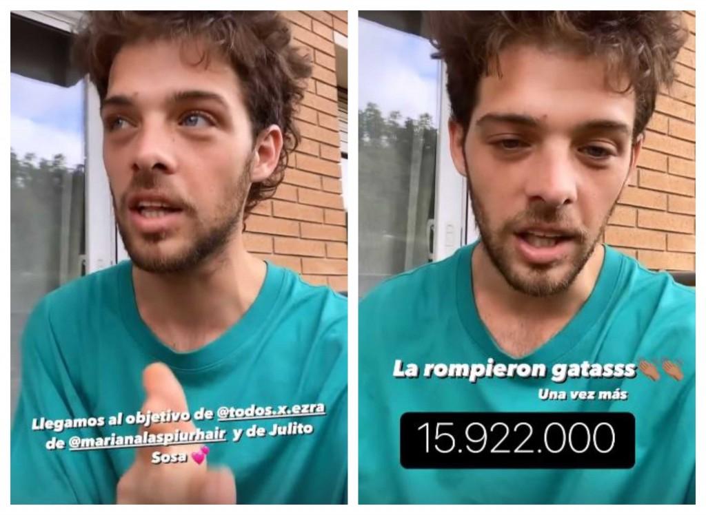 """Campaña solidaria por Julio Sosa: en 48 horas, """"Santi"""" Maratea lo logró de nuevo"""