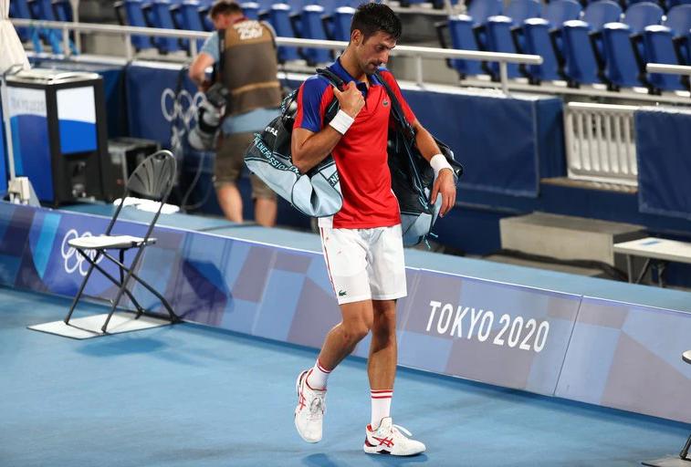 Fin del sueño de Novak Djokovic: perdió ante Zverev en los Juegos Olímpicos de Tokio y no podrá completar el Golden Slam