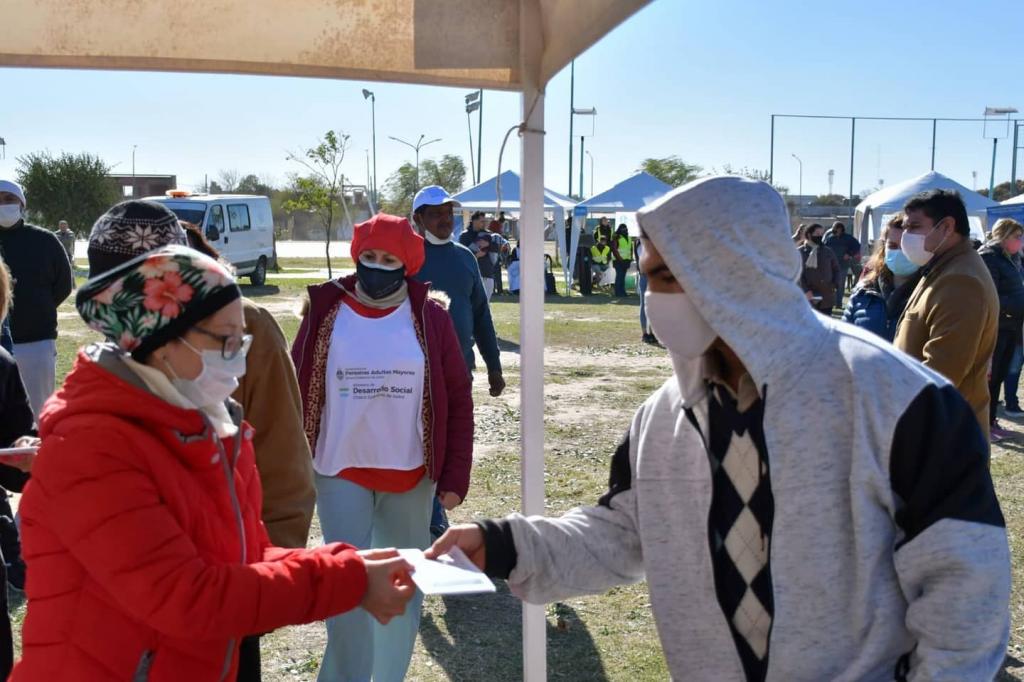 Campaña provincial de vacunación: el Chaco superó las 800 mil dosis aplicadas contra la COVID-19