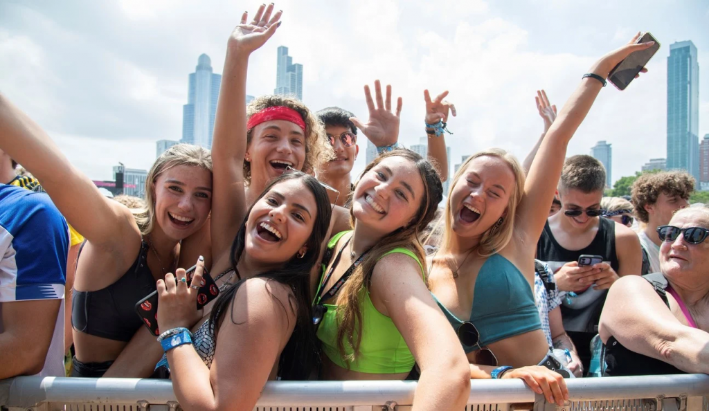 Lollapalooza, el festival de música de Chicago, vuelve al compás de la covid
