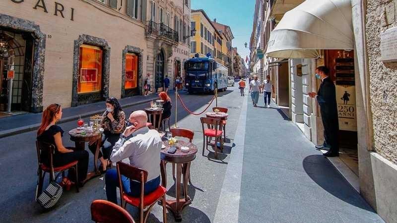 Italia acelera la recuperación de la pandemia y vuelve a cifras de desocupación de un dígito