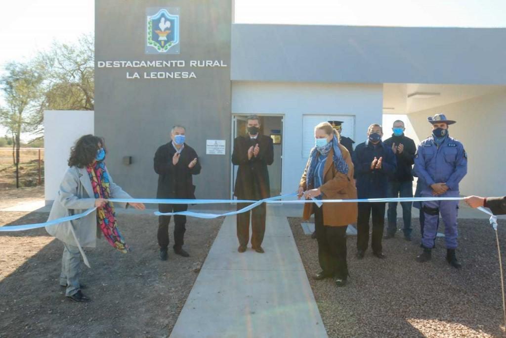 La Leonesa ya cuenta con un nuevo destacamento rural policial