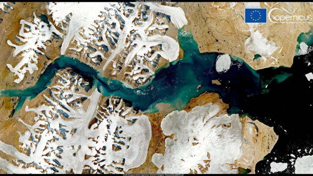 La capa de hielo de Groenlandia experimenta un