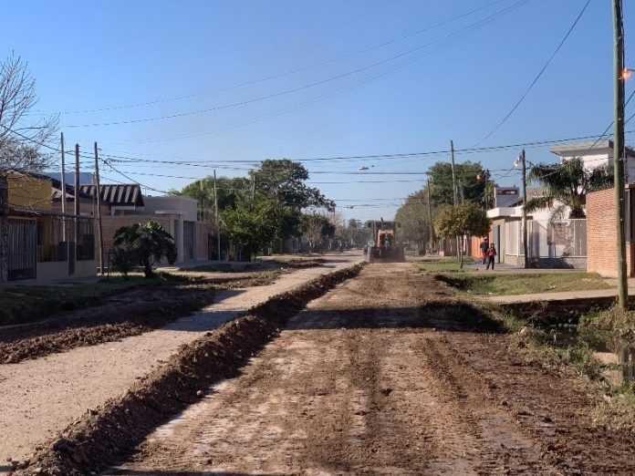 Nuevo operativo de mantenimiento de calles en Villa Prosperidad