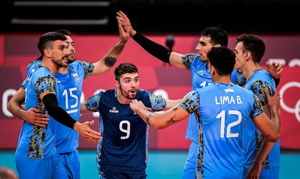 Argentina jugará mañana en vóleibol contra Italia en los cuartos de final de Tokio 2020