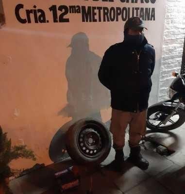 Recuperaron partes de un auto robadas en Villa Río Negro