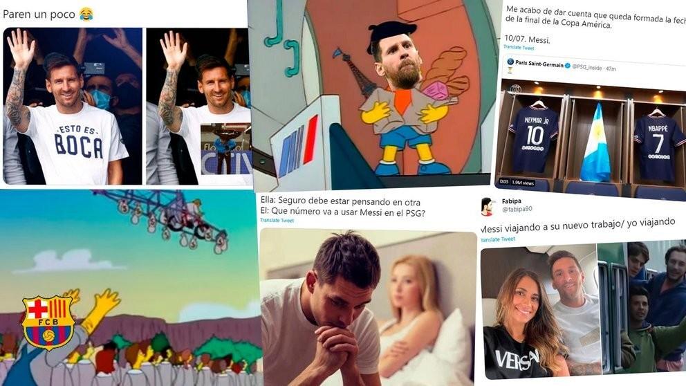 Messi llegó al PSG y los memes ya ganaron por goleada