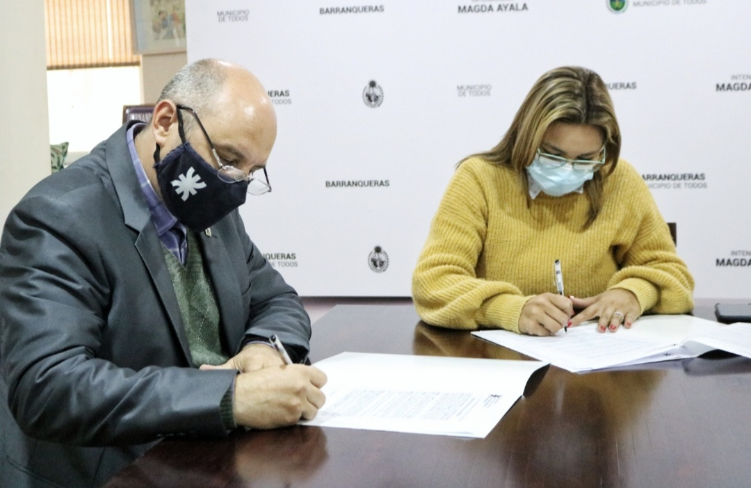 Barranqueras firmó un convenio de prácticas supervisadas en conjunto con la UTN
