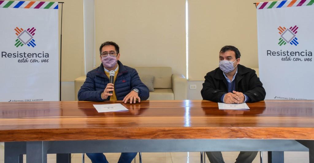 ALFREDO BLANCO: designado coordinador de relaciones con entidades de la sociedad de Resistencia