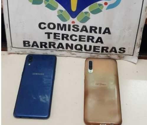 Rastrearon por GPS celulares robados y detuvieron a tres hombres