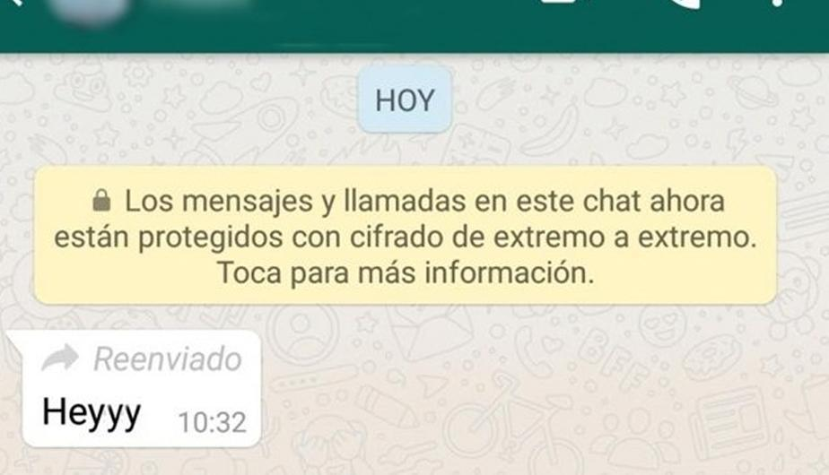 """Cómo reenviar un mensaje de WhatsApp sin que diga """"reenviado"""""""