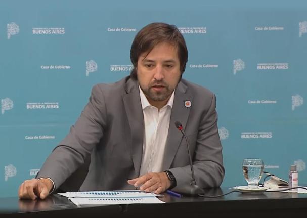 Buenos Aires informó que hay un contagio por transmisión comunitaria de la variante Delta