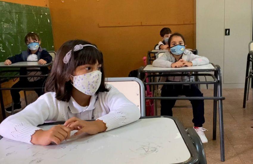 """Comienza la """"presencialidad plena"""" en casi todas las escuelas del Chaco"""