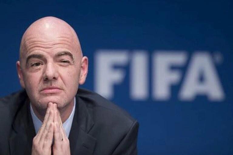 El presidente de la FIFA se indignó