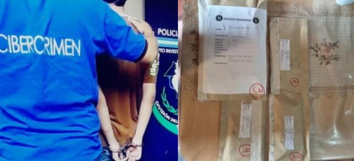 Fue detenido un joven de 22 años por difundir imágenes de contenido sexual de menores