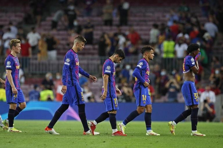 El FC Barcelona inició este martes su camino en la Champions League de la peor manera