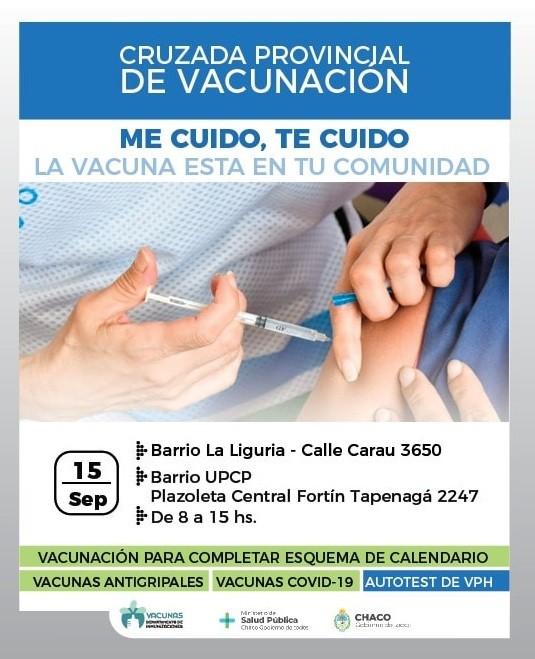 Se lanzó hoy campaña para reforzar plan de vacunación