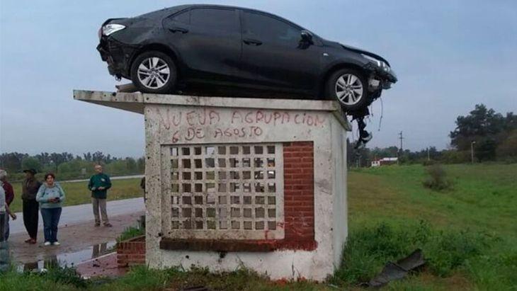 El auto volador