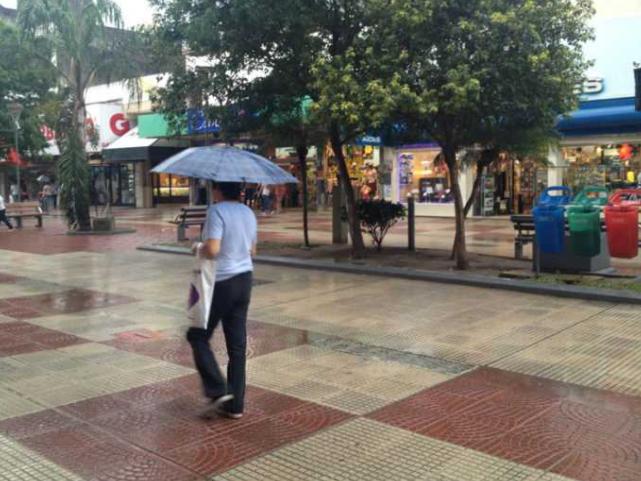 Importante milimetraje de lluvia en el Gran Resistencia mientras continúa el mal tiempo
