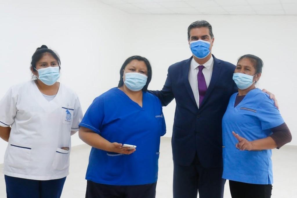 CAPITANICH HABILITÓ EL CENTRO DE SALUD REFACCIONADO DEL BARRIO NAM QOM