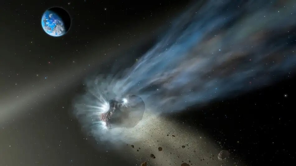 Un cometa más grande que la Luna y Marte se acerca al Sol