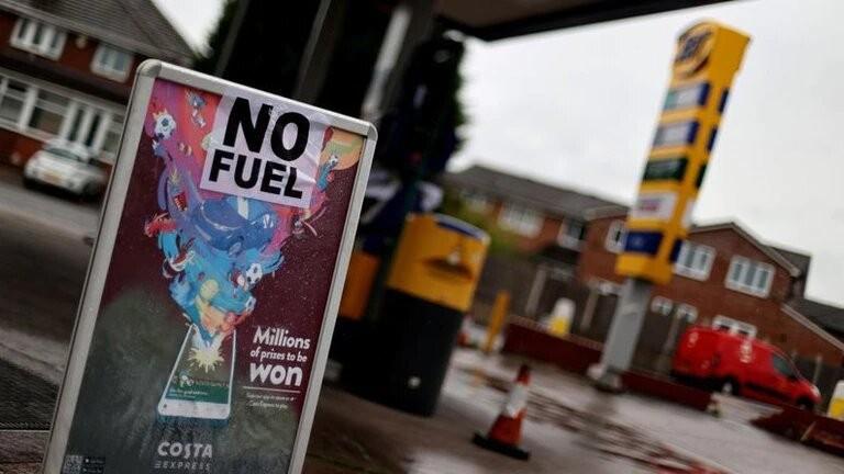 Crisis de combustible: el desabastecimiento en el Reino Unido puede llegar hasta Navidad