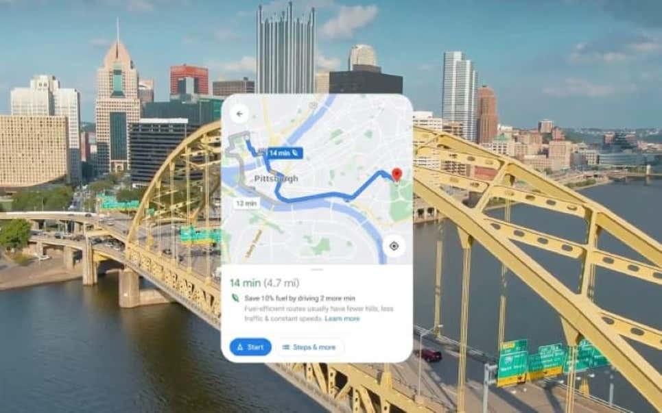 Google Maps añade un nuevo modo de navegación