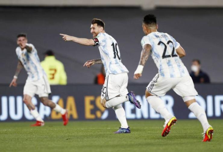 Argentina mostró su mejor versión ante Uruguay en el Monumental