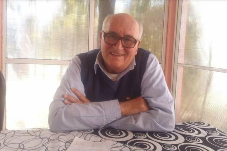 Gran dolor por la muerte del padre José Ceschi