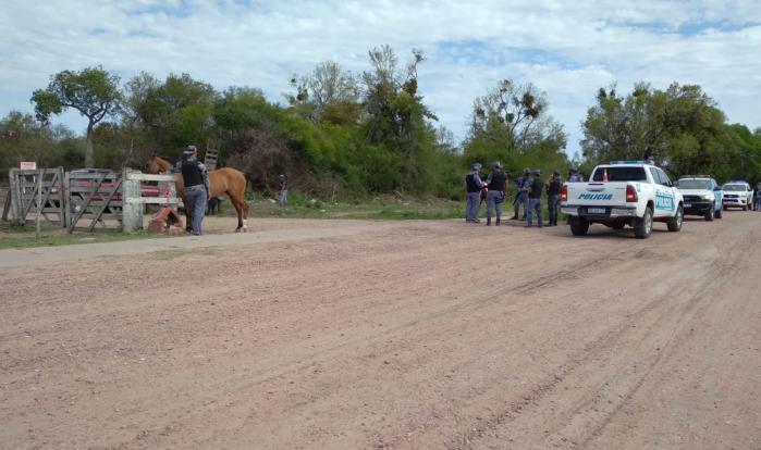 Cinco hombres demorados por realizar carreras clandestinas en Machagai